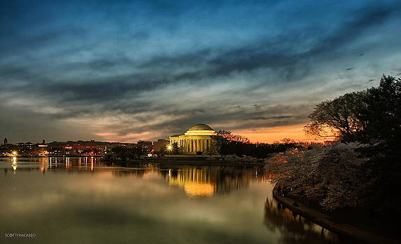 Jefferson Memorial at Dawn by Scott Fracasso