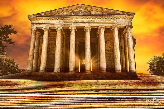 Jefferson Memorial by Gene Linzy