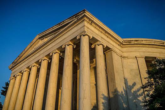 Jefferson Memorial Oblique by Pat Scanlon
