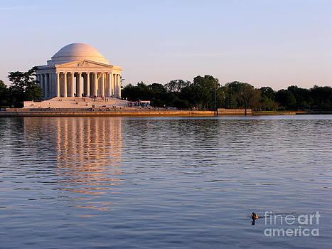 Jefferson Memorial by Olivier Le Queinec