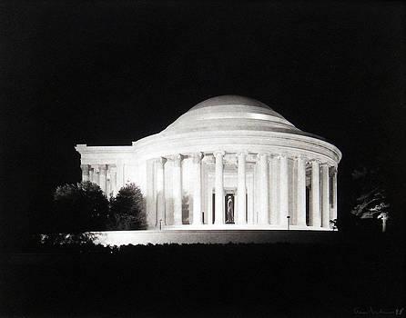 Jefferson Memorial - Washington DC by Gary Auerbach