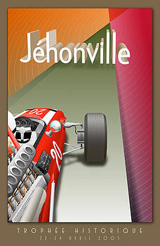 Georgia Fowler - Jehonville Historic Trophy Classic Car Race