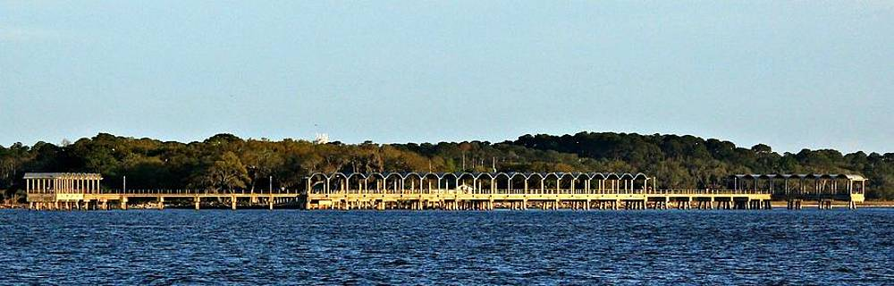 Jekyll Island Pier by Melissa Herndon