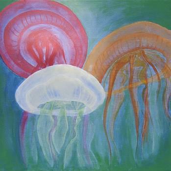 Jellyfishes by Pamela Gebler