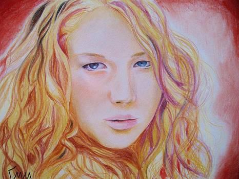 Jennifer Lawrence by Emily Maynard
