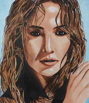 Jennifer Lopez by Danielle Allard