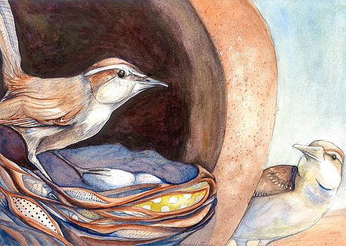Jenny Wrens by Rachel Osteyee