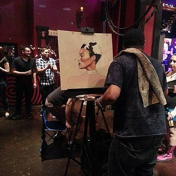 #jeremybiggers #liveart #dallas by Justme MsB