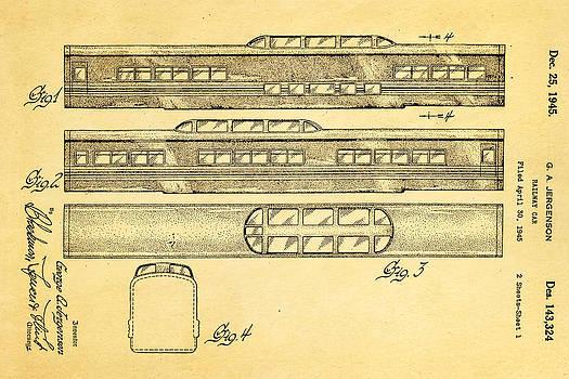 Ian Monk - Jergenson Railway Car Patent Art 1945
