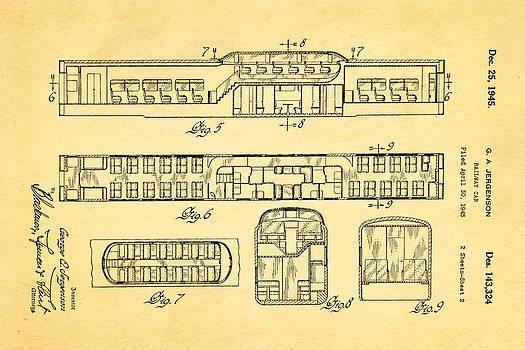 Ian Monk - Jergenson Railway Car Patent Art 2 1945