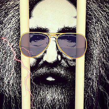 Jerry Garcia Can See You ... Grateful Dead by Patricia Januszkiewicz