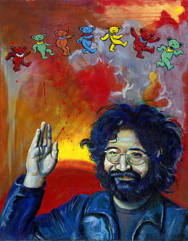 Jerry Garcia by Charles  Bickel