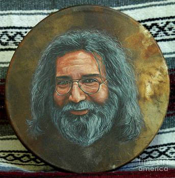 Jerry Garcia Drum by Stu Braks