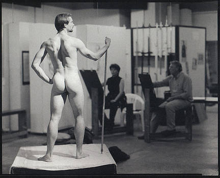 The Drawing Studio - Jerry Woods by Gary Auerbach