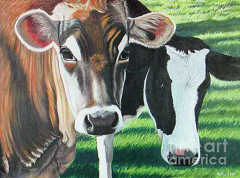 Martha DArt - Jersey Cow 2