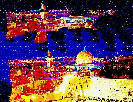 Jerusalem Maala ve Mata by Prosper Abitbol