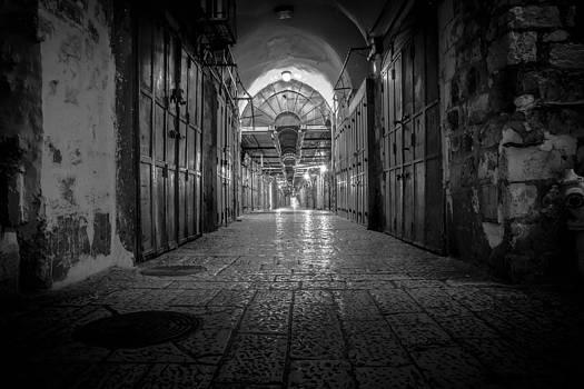 Jerusalem Market  by Josef Anah