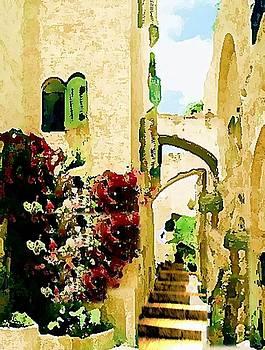 Jerusalem old city by Prosper Abitbol