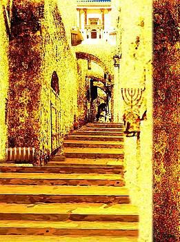 Jerusalem rova yehudi by Prosper Abitbol