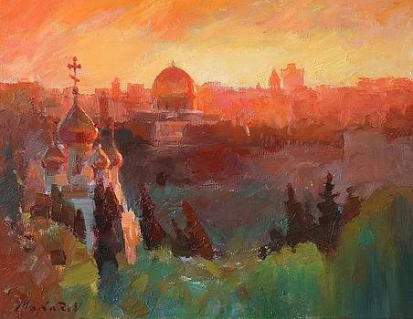 Jerusalem by Vadim Makarov