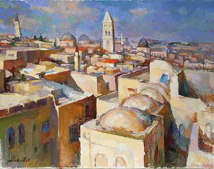 Jerusalem.German church by Vadim Makarov