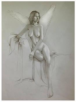 Jesse in wings by Craig Carl