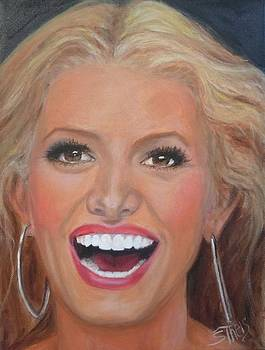 Jessica Simpson by Shirl Theis