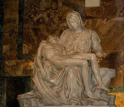 Jesus and Mary by Bonita Hensley
