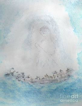 Jesus and the Little Angels  by Ruthann  Hanson