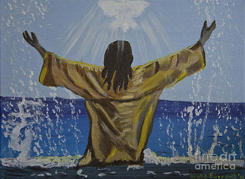 Jesus Baptism by Kate Farrant