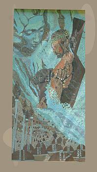 Jesus Christ mosaic  by Cigler Struc