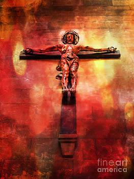 Justyna Jaszke JBJart - Jesus Christ on the Cross