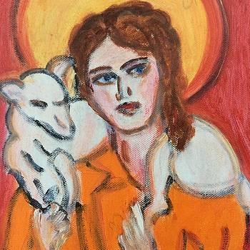 Jesus et l'agneau by Danielle Landry