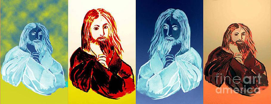 Jesus by Geraldine Liquidano