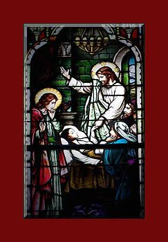 Jesus Heals by Cecil Fuselier