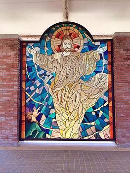 Jesus Holy Image by Jim Carl Mangaoil