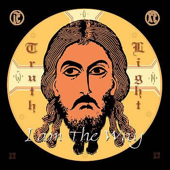 Jesus Icon by John Keaton