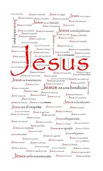 Jesus in Spanish by Terrilee Walton-Smith
