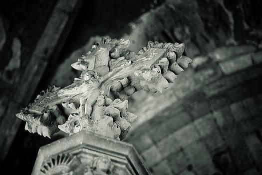 Jesus in Stone 2 by Calvin Hanson