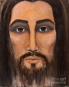 May Ling Yong - Jesus Portrait 1