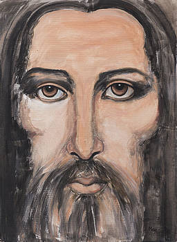 May Ling Yong - Jesus portrait 2
