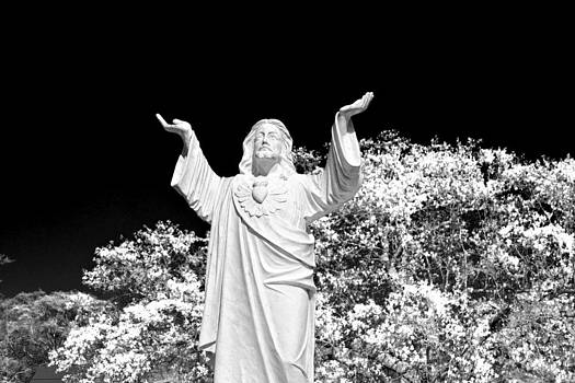 Jesus Watching by Karsun Designs Photography