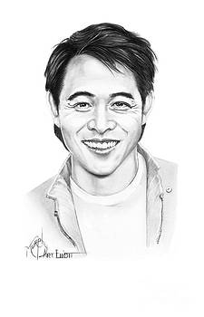 Jet Li by Murphy Elliott