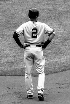 Jeter 2 BW edit by Stephen Melcher