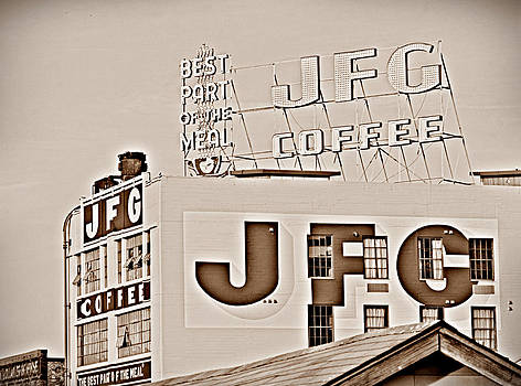 Sharon Popek - JFG Coffee Sign