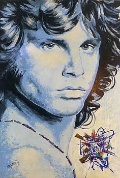Jim Morrison by Jack Hanzer Susco