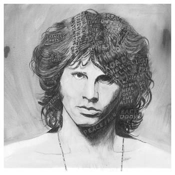 Jim Morrison with lyrics by Charles  Bickel