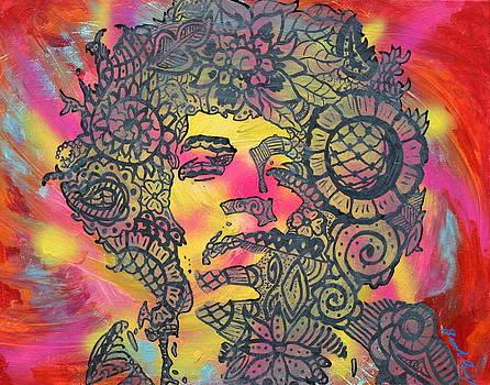 Jimi Hendrix by Brandi Perry