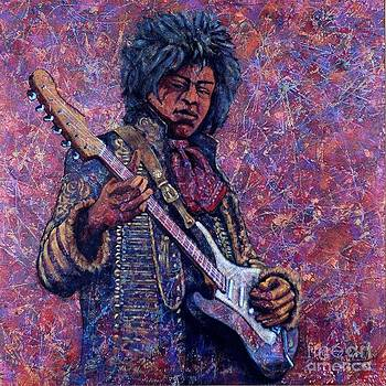 Jimi Hendrix by John Knotts