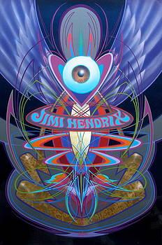 Jimi Hendrix Memorial by Alan Johnson